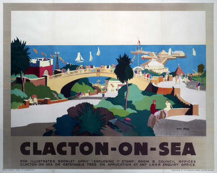 Clacton On Sea Poster