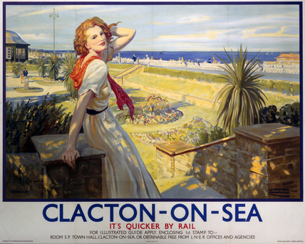 Clacton on Sea - LNER Print/Poster